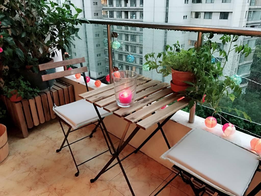 éclairage balcon