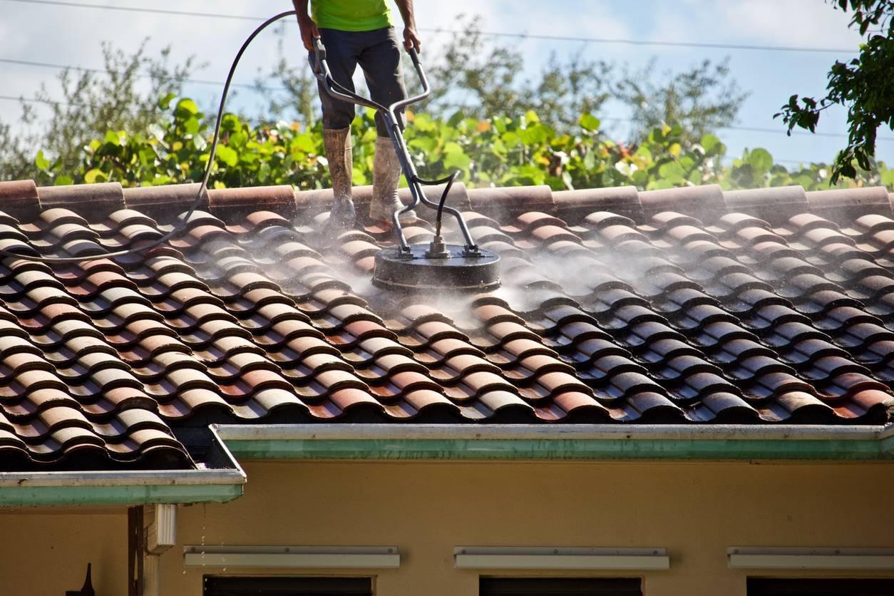 démoussage de toit