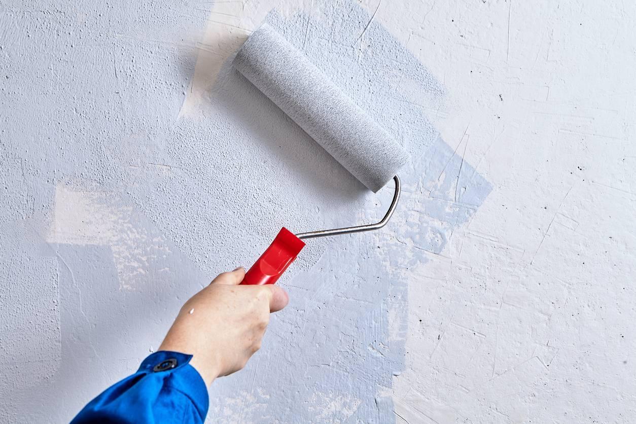 Rouleau de peinture pour mur
